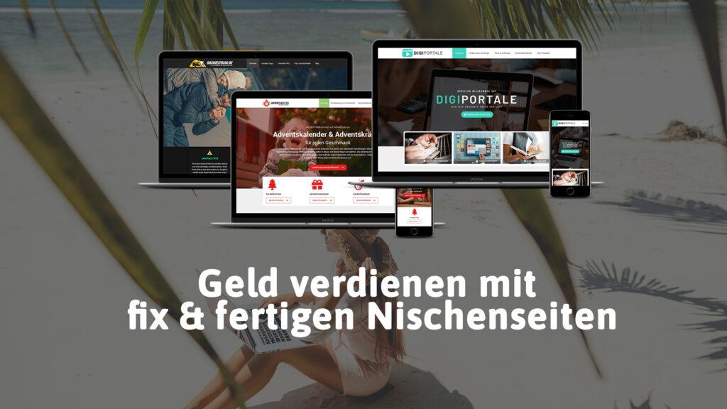 Geld verdienen mit fertigen Nischenseiten von Webpirat.de