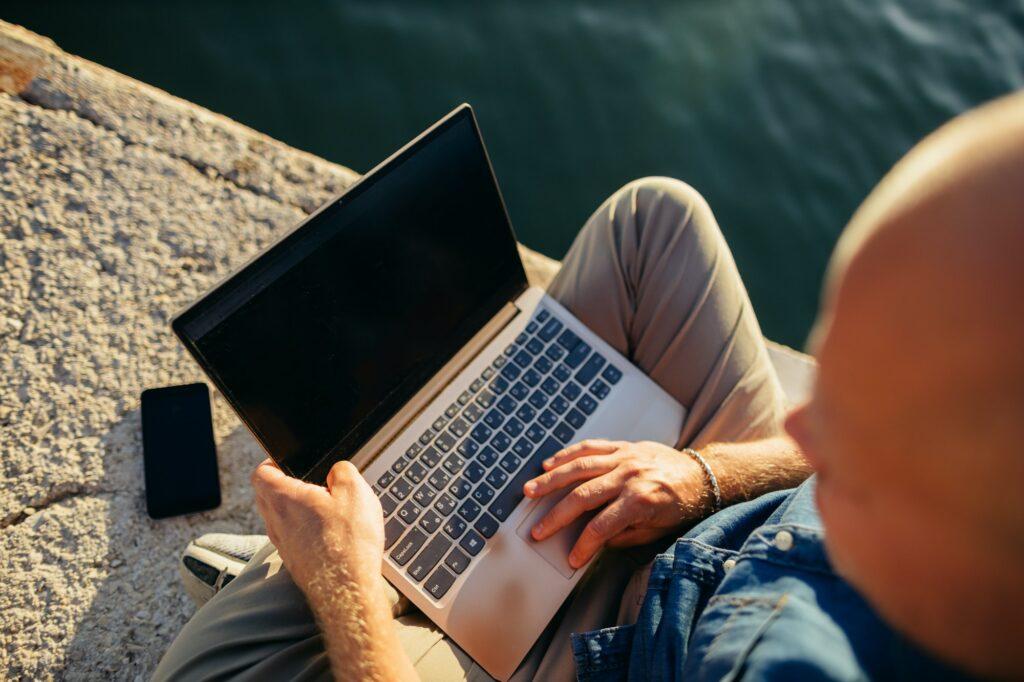 Das perfekte Laptop Business
