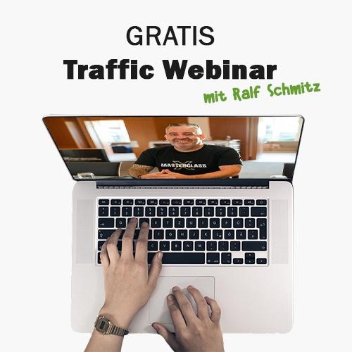 Ralf Schmitz Webinar - Traffic
