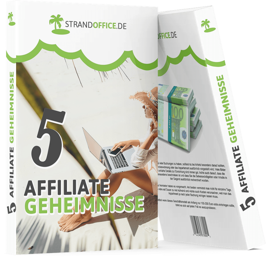 5 Affiliate Geheimnisse - Gratis Ebook von Strandoffice.de